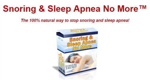 Stop Snoring and sleep apnea